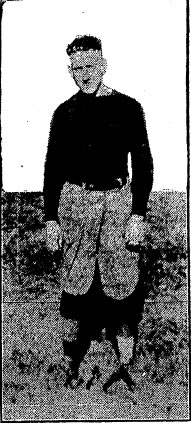"""Nips"" Murphy - Davenport Daily Times - September 29th 1919"