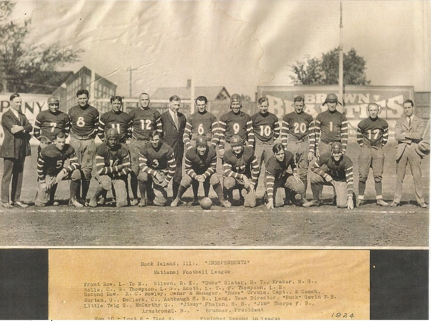 Original 1924 Team Photo - Copyright 2007 RII.com - Submitted by Fred Bird and Joe Kraker Family 12-5-2016